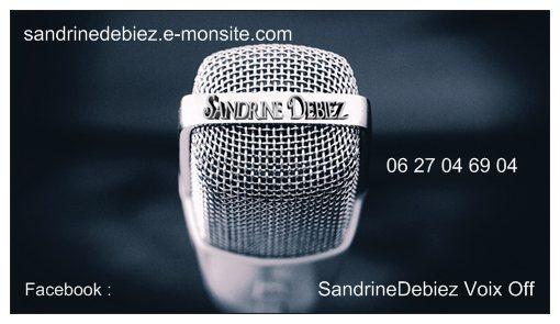 Sandrine Debiez Voix Off